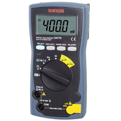 Multitester Sanwa Cd771 multitester digital sanwa meter digital