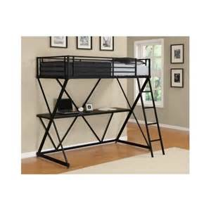 Bunk Bed Desk Combo Bunk Bed Desk Combo College Students Bedrooms Compact Furniture Ebay