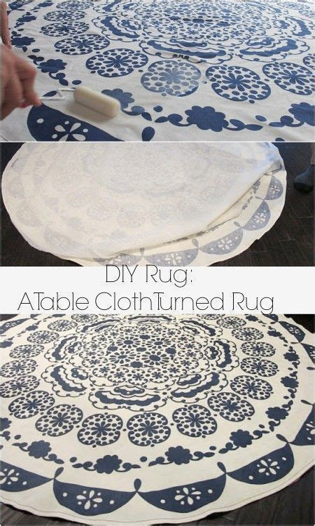 turn a tablecloth into a rug turning a table cloth in to a rug a diy anthropologie rug anthropologie rugs and cloths