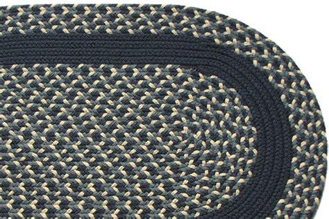 navy braided rug navy williamsburg blue navy band braided rug