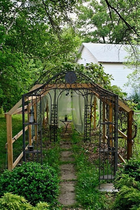 diy show  diy grape arbor  gazebo diy show