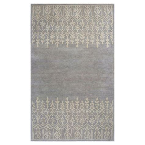 home traditions rugs donny osmond home grey traditions 3 ft 3 in x 5 ft 3 in area rug doh810833x53 the home depot