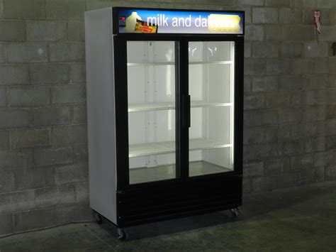 Glass Door Cooler Used Two Glass Door Cooler Merchandiser Used Two Glass Door Cooler Used 2 Glass Door Cooler