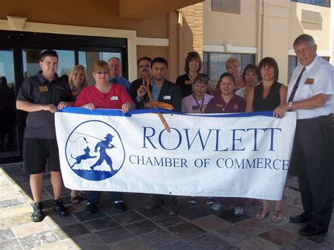 Comfort Chamber Of Commerce by Ribbon Cutting For Comfort Suites Lake Hubbard Blue