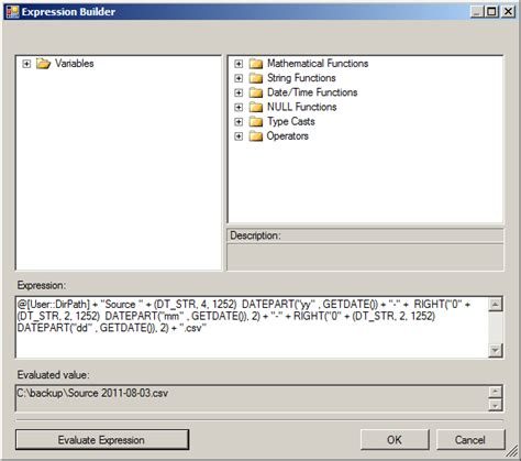 format date value how do i format date value as yyyy mm dd using ssis
