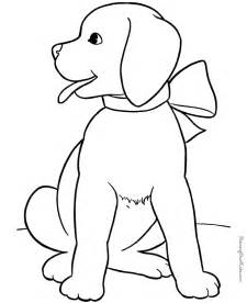 free coloring pages of animals puppy animal coloring sheet