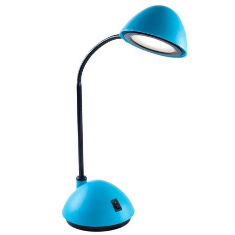 Bright Blue Desk Lamp Lavish Home 21 In Blue Bright Energy Saving Led Desk Lamp