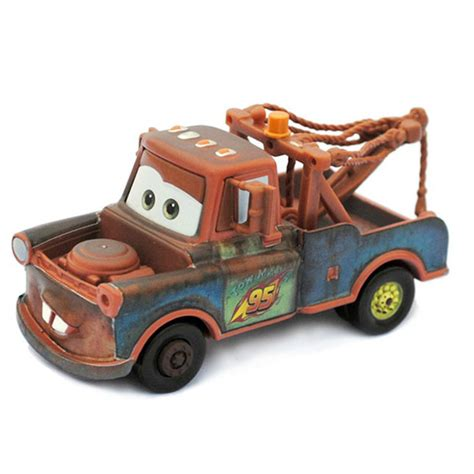 Cars Figure Isi 4 Original the second generation rocket version mater pixar cars brown diecast figure cheap