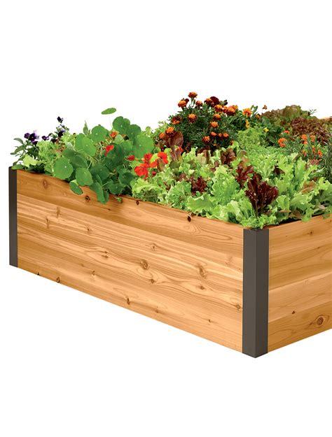 deep root cedar raised beds  ft cedar raised garden beds