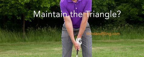 triangle golf swing maximize clubhead speed by breaking the quot triangle quot