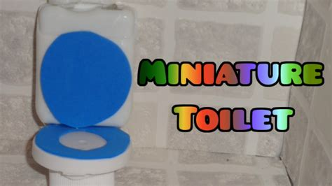 Easy Accessories For by Miniature Toilet Diy Lps Crafts Easy Doll Crafts