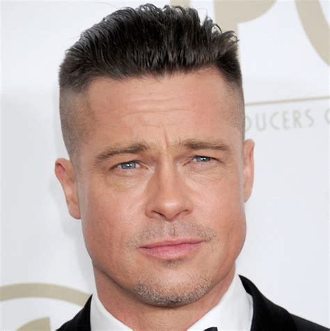 brad pitt new 2014 oscars inspired haircut tutorial thesalonguy 12 men side shaved haircut ideas designs hairstyles