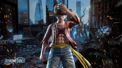 jump force luffy wallpapers cat  monocle
