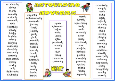 Adjectives Mat by List Of Adverbs For Www Imgkid The Image Kid