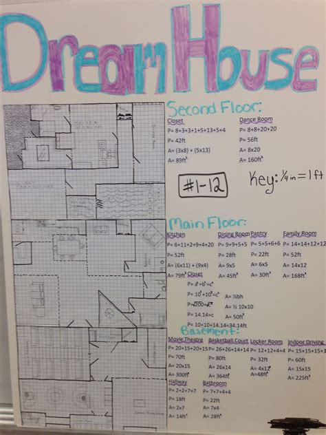design a dream school every year my 8th grade math students design their own