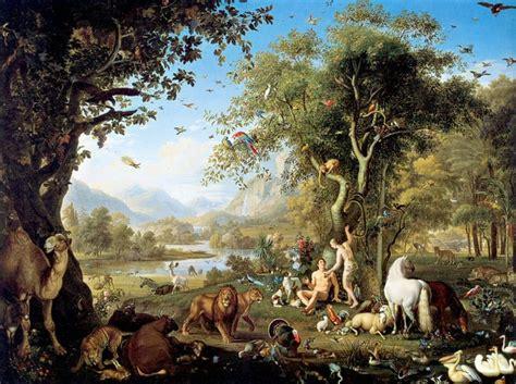 adam  eve   garden  eden bible story verses