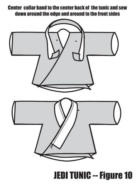 tutorial tunica jedi using an a line in a jedi tunic figure 10 cosplays