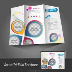 downloadable brochure templates brochure template free for vector free