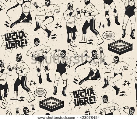 Lucha Libre Heroes Phone luchador stock images royalty free images vectors