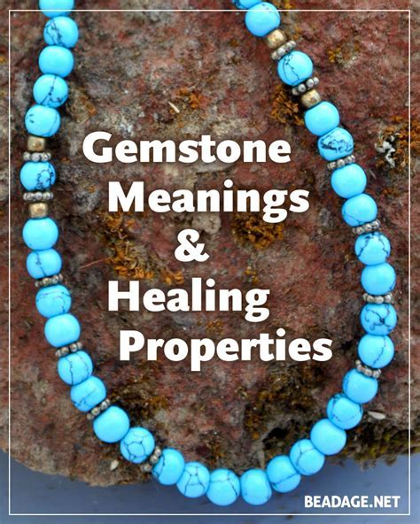 Gemstone Meanings and Crystal Properties   Beadage