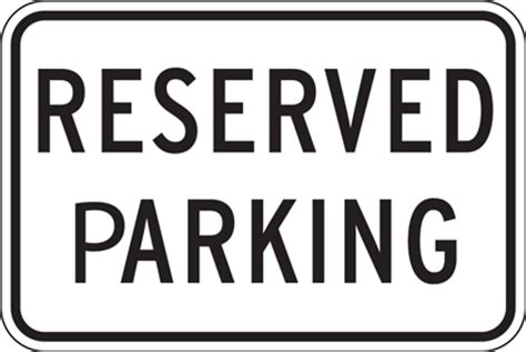 Reserved Parking Signs Template Pixel Web Design Reserved Parking Sign Template Free