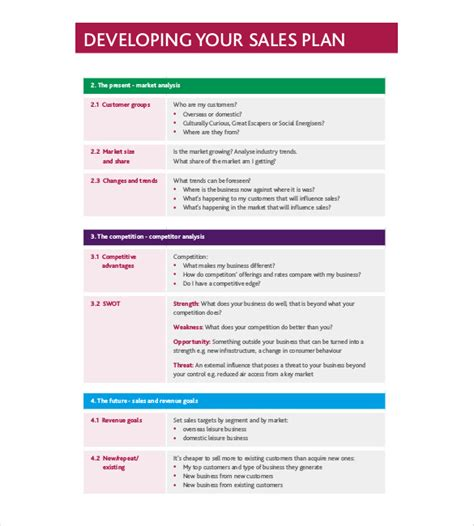 developing a business strategy template strategy template 19 free word excel pdf document