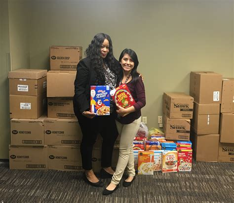 Pulaski Food Pantry by County Assessor S Office Completes Annual Cereal Drive For