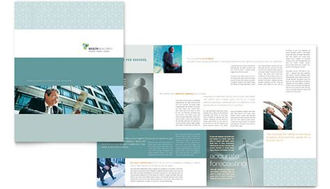 8 Free And Platinum Financial Service Brochure Templates Financial Services Brochure Template Free