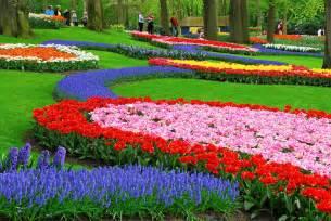 Amsterdam Flower Garden Keukenhof Park Netherlands Photo On Sunsurfer