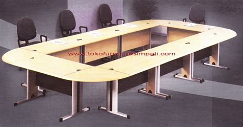 Meja Meeting Informa modera s class conference table set toko kasur