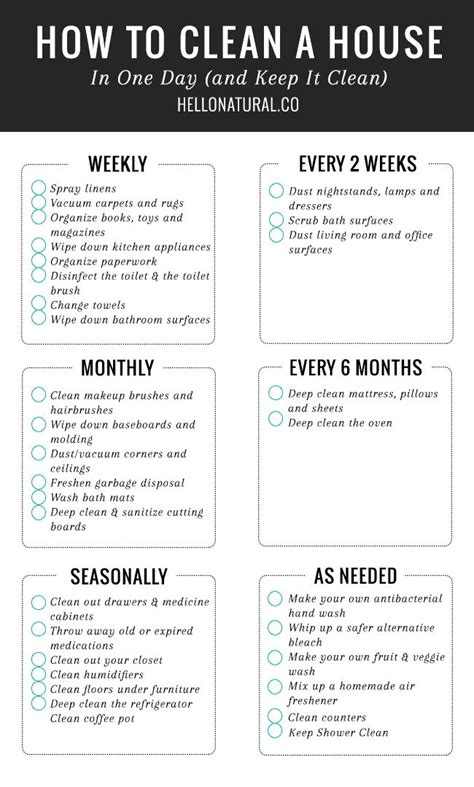 25 unique house cleaning charts ideas on