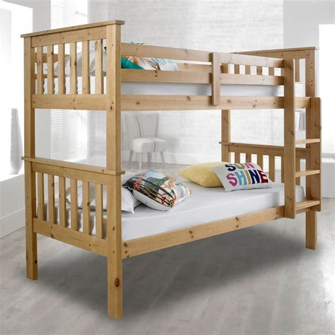 Bunk Bed by Atlantis Solid Pine Wooden Bunk Bed