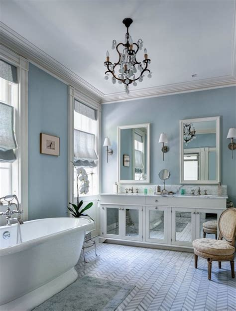 35 Blue Gray Bathroom Tile Ideas And Pictures Gray Blue Bathroom Ideas
