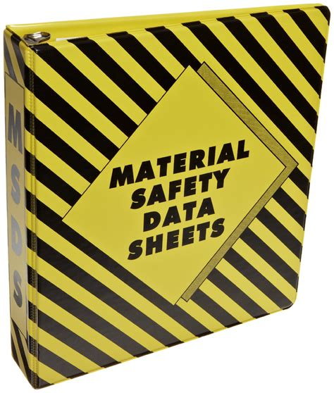printable msds binder cover sheet msds sign off sheet images
