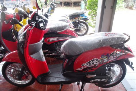Lu Scoopy facelift honda scoopy thailand mangstapppp arif