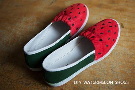 diy watermelon shoes diy watermelon shoes kittenhood
