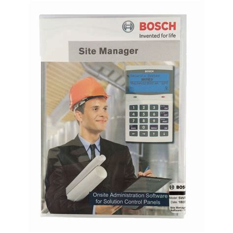 Security Site Manager solution link site manager software