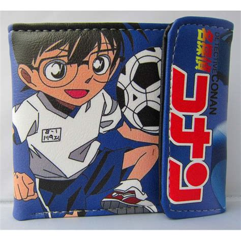 Dompet Wallet Anime Detective Conan 2 japanese anime detective conan folding pu wallet conan closed button purse in wallets