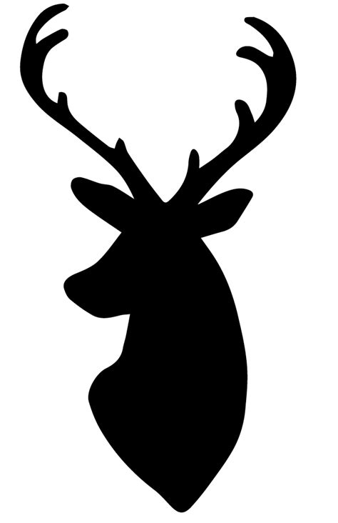 template for reindeer head search results calendar 2015