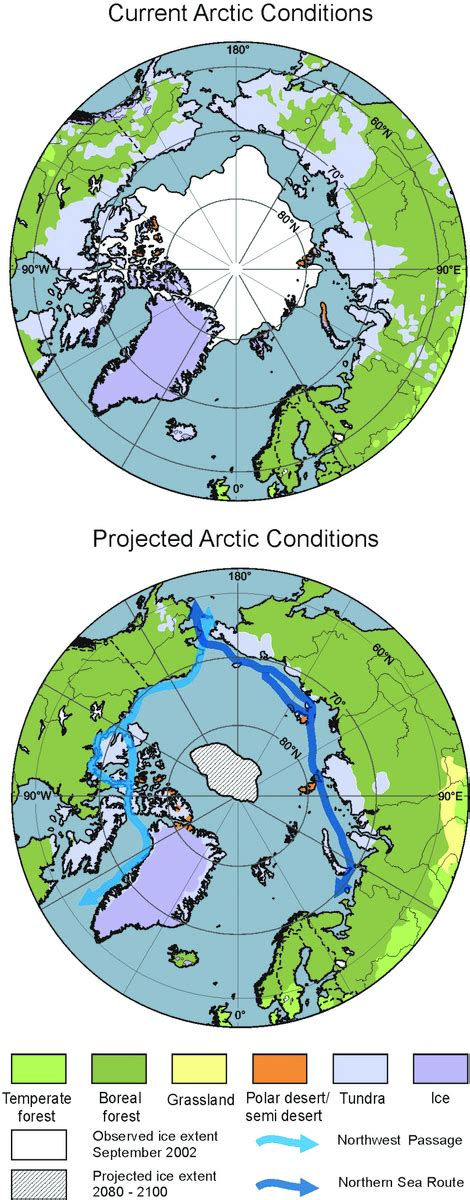 Write An Essay On Floristic Regions Of The World by Ar4 Wgii Chapter 15 Polar Regions Arctic And Antarctic Figure 15 3