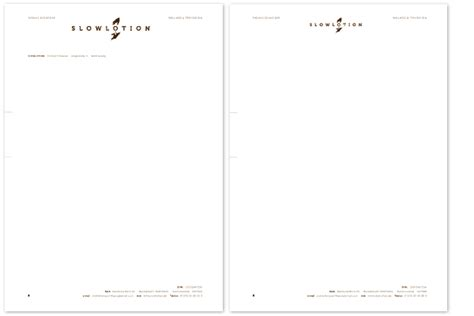 Word Vorlage Briefpapier Stiftdesign