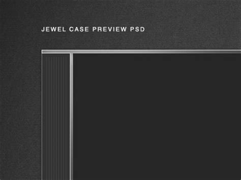 photoshop templates for cd jewel cases cd jewel case mockup psd by aaron harlow dribbble