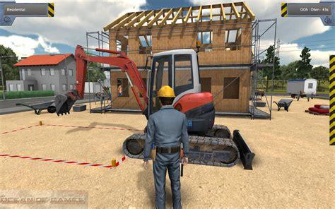 house builder simulator construction simulator 2012 free