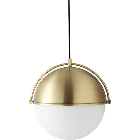 Globe Pendant Light Cb2 Cb2 Pendant Light