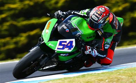 Motorcycle Apparel Phillip Island by Results From Day 1 Of World Supersport Testing At Phillip