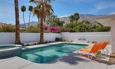 Designer Kitchen Appliances renovated mid century modern in central palm springs