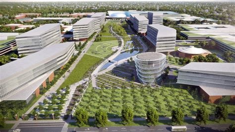ford headquarters inside ford begins work on new 1 2 billion cus in michigan