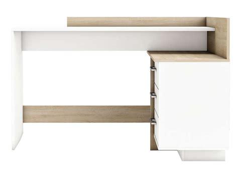bureau avec retour ikea bureau avec retour 3 tiroirs thales 2 coloris ch 234 ne bross 233