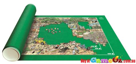 Jigsaw Puzzle Roll Up Mat Australia by Jumbo Puzzle Mates Roll Up To 3000 Puzzles
