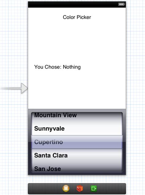 xamarin uipickerview tutorial laying out uipickerview on storyboard